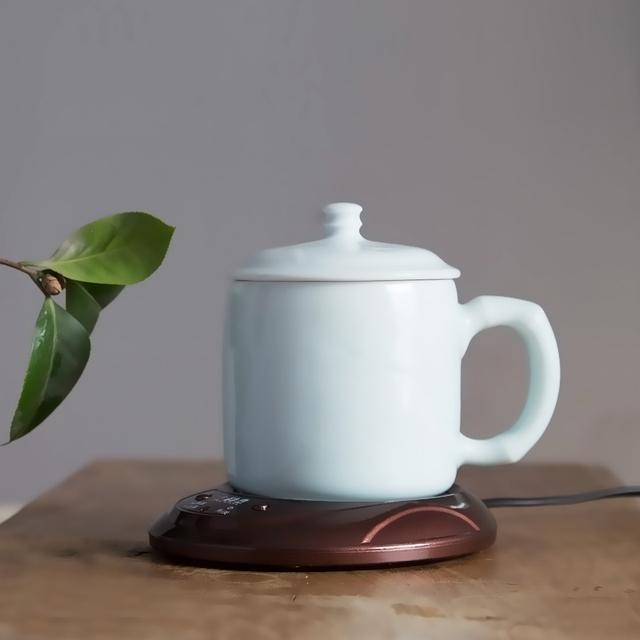Electronic Tea Cup Warmer Desktop Coffee Heater Keep Mug USB Coaster Mat Pad Mug best Christmas Gift
