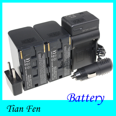 2pcs Battery+Charger BP-945 BP 945 Rechargeable camera Battery for Canon high quality 1pcs battery bp u60 bp u60 rechargeable camera battery for sony bateria