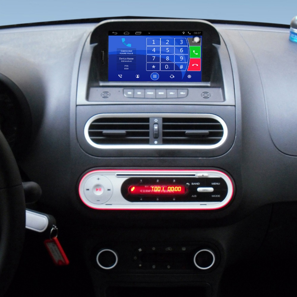 Upgradovaný originální multimediální přehrávač do auta GPS navigační oblek pro garáže Morris MG 3 MG3 Podpora WiFi Bluetooth