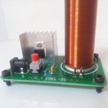 12V Electronic toys Tesla coil wireless transmission PCB lighting plate spray