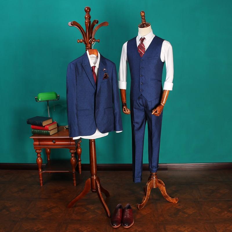 Kostume të reja të veshjes së dasmave të burrave të mbërritura - Veshje për meshkuj - Foto 2