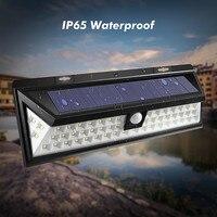 Mising ماء 54 led الشمسية ضوء 2835 smd الأبيض الشمسية السلطة في حديقة مسار الجدار مصباح ضوء البير استشعار الحركة 3.7 فولت