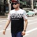 man t shirt 2016 summer casual fashion print style short sleeve t-shirt homme plus size 7xl 6xl 5xl tshirt Clothings
