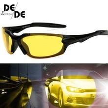 Hot Sale Men Polarized Glasses Car Driver Night Vision Goggles Anti-glare Polarizer Sunglasses Driving Sun