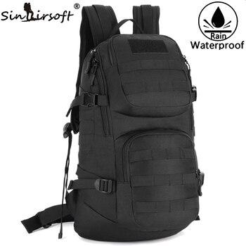 0d2cb6b0656d SINAIRSOFT уличная спортивная сумка через плечо для мужчин 35L Велоспорт  рюкзак камуфляж военный рюкзак путешествия Туризм нейлоновая сумка