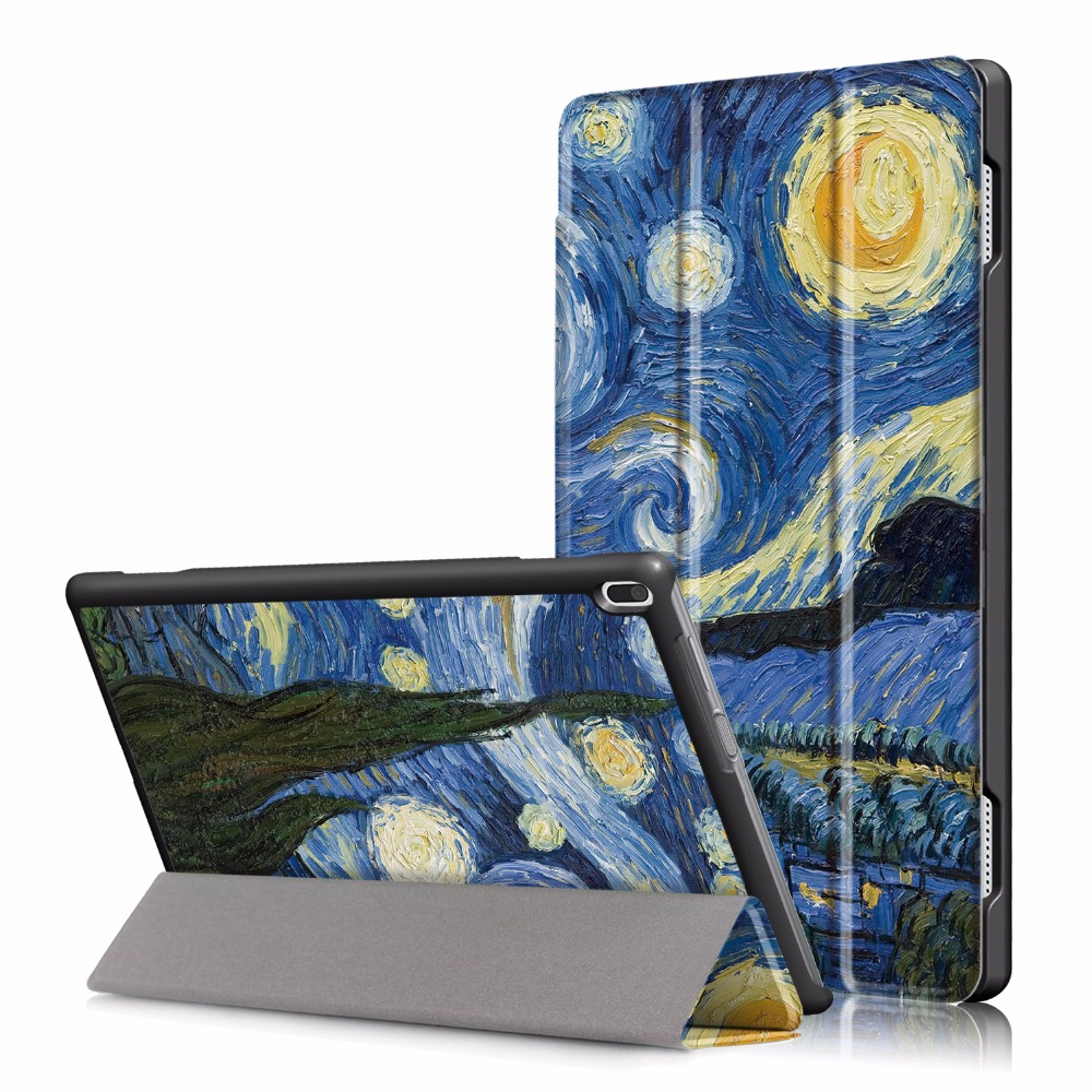 PU Leather Case For 2017 Lenovo TAB 4 10 Tablet Cover For Lenovo Tab4 10 Tab4 10 TB-X304N/F TB-X304L Cases 10.1 inch + Stylus ynmiwei for miix 320 tablet keyboard case for lenovo ideapad miix 320 10 1 leather cover cases wallet case hand holder films