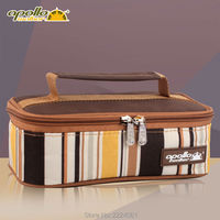 Apollo Aluminum Foil Lunch Box 2L thermal food bags insulin cooler bag Multi function Thermal Food Box Ice Bag