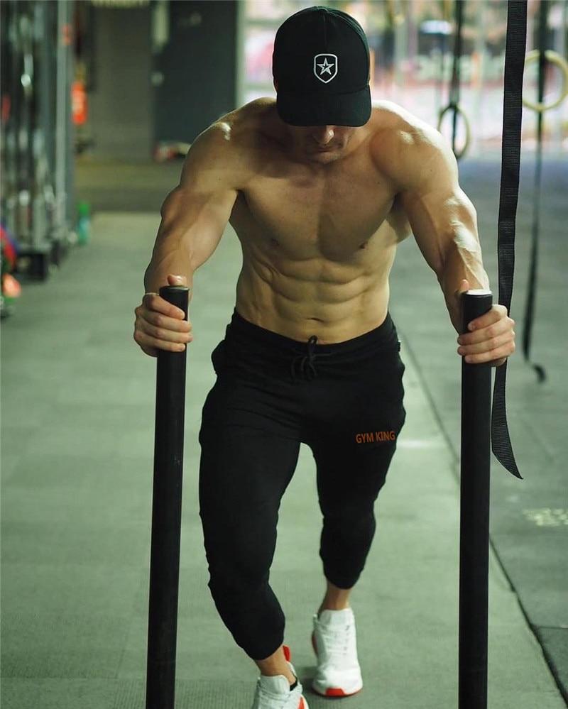 HTB1MymgakT2gK0jSZPcq6AKkpXa6 Fashion Mens Joggers Pants Skinny Casual Trousers Pants Top Quality Men Sweatpants