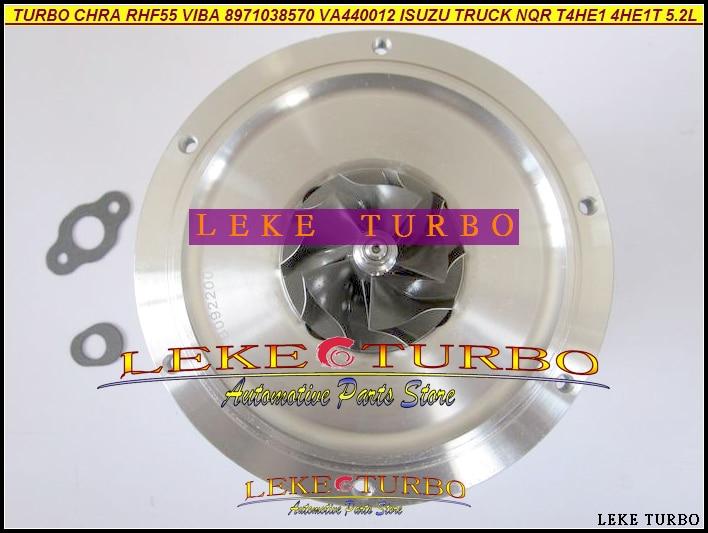 цены Turbo Cartridge CHRA Core RHF55 VIBA 8971038570 8971038571 8-97103-8570 VC44012 VA440013 For ISUZU Truck 97- 4HE1-T 4HE1T 5.2L