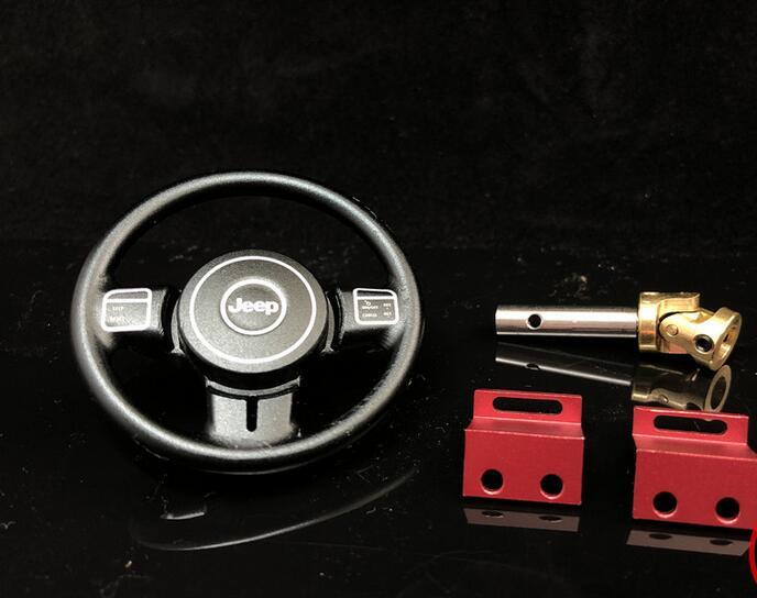 Metall lenkrad mit welle lenkgetriebe montieren Für CD15827 für RC Rock crawler 4x4 Lkw Capo Jkmax JK Wrangler 1/10-in Teile & Zubehör aus Spielzeug und Hobbys bei  Gruppe 1