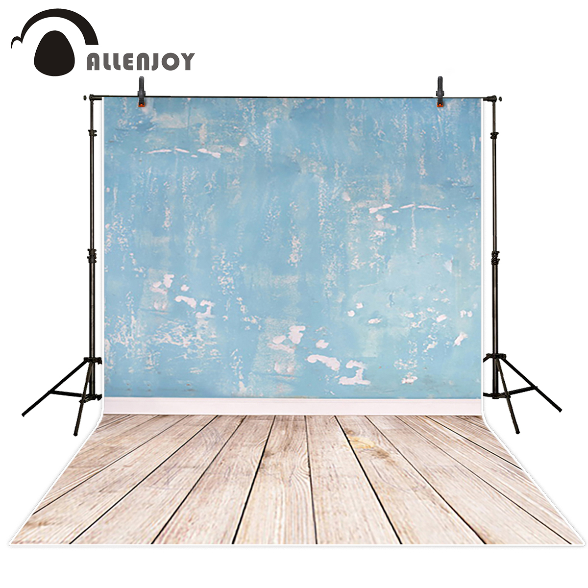 Allenjoy wall paper Photo background Blue distressed mottled walls photocall Vinyl photography backdrops photo studio shengyongbao 300cm 200cm vinyl custom photography backdrops brick wall theme photo studio props photography background brw 12