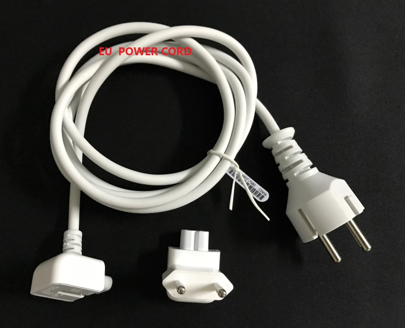 Europe Eu Plug 1.8M magsafe Extension Power  Cable Cord +Eu plug for Apple Macbook Mac pro ipad Air Charger Adapter 45w l shape magsafe power adapter charger for apple macbook air 11 13