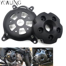 Z800 Motorbike Motorcycle Engine Stator Cover Engine Protective Cover For kawasaki z800 Z750 2013 2014 2015 2016 Z750 2007-2012 стоимость