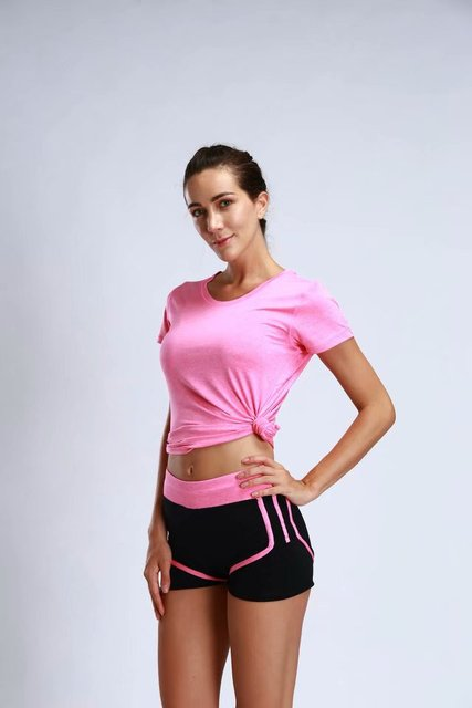 Women's Workout Fitness Stretchable Quick Dry Sport Shorts