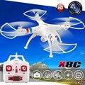 50 CM 2.4G X8C Syma RC drone quadcopter con FPV cámara de ALTA DEFINICIÓN 4 GB de Memoria modelo VS SYMA helicóptero de control Remoto de tarjeta X8G X8W MJX101