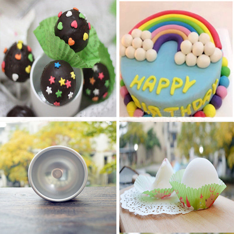 Beauty & Health Bath Loyal 1pc Cake Moulds Baking Pastry Chocolate Plastic Sphere Bath Bomb Water Ball Round Kitchen Bathroom Accessories Pretty And Colorful