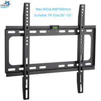 Fixed TV Wall Mount Universal 50KG TV Wall Mount Bracket Fixed Flat Panel TV Frame For