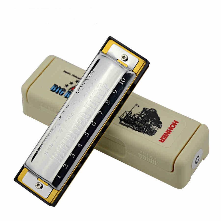 ФОТО Authentic German imports and 10 hole blues harmonica Big River, the 10 hole harmonica C