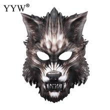 Cartoon Wolf Masks Halloween Party Mask Mascara Animales Cosplay Costume Masker Carnival Masquerade Props