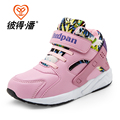 New 2016 Brands Hot Kids Shoes girls Boys PU Leather High Children Sneakers girl Baby Shoes Sport Autumn Winter Children Shoes