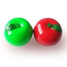 Obst Feuchtigkeitscreme Lipbalm Nette Make-Up Süße Geschmack Lip balm Kosmetik Lippenstift Lipgloss Ball Geformt