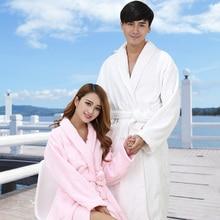 Bathrobe Women Warm Robe Femme Winter Long Soft Kimono Home Clothes Sleeved Bridesmaid Robes
