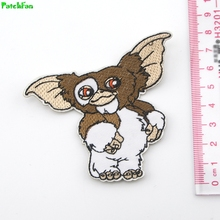 ФОТО patchfan gremlins cartoon gizmo character embroidered iron sew on patch