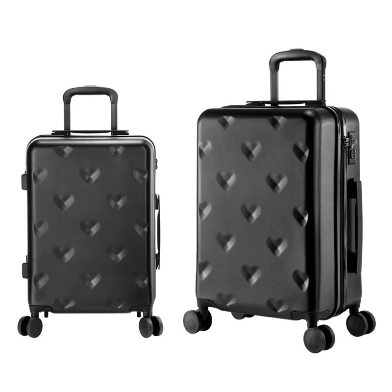 Carrylove 20 24 Inch Brand Rolling Luggage Suitcases And Travel Bags Carry On Hand Trolley Case 4 Wheels Spinner Lovely In From