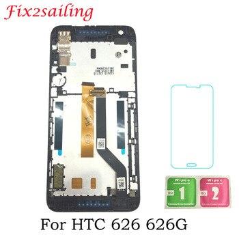 Супер дисплей экран для htc Desire 626 626G ЖК-дисплей + сенсорный экран с рамкой дигитайзер сборка 5 дюймов мобильный телефон ЖК >> Fix2 smartpart's Store