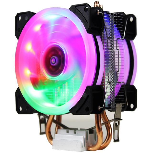 LANSHUO AMD Intel CPU Heat Sink Fan Processor Radiator Cooling Cooler Fan LGA 775 115X AM2 AM3 AM4 FM1 FM2 1366