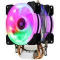 Lga 775 115x am2 am3 am4 fm1 fm2 1366 lanshuo amd intel processador de ventilador do dissipador calor do radiador