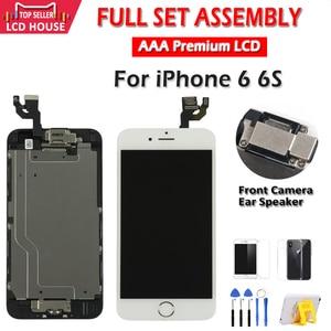 """Image 5 - Nero Bianco 4.7 """"Dello Schermo per Il Iphone 6 6S Lcd Set Completo di Montaggio Completo 100% con 3D Forza di Tocco digitizer Display di Ricambio"""
