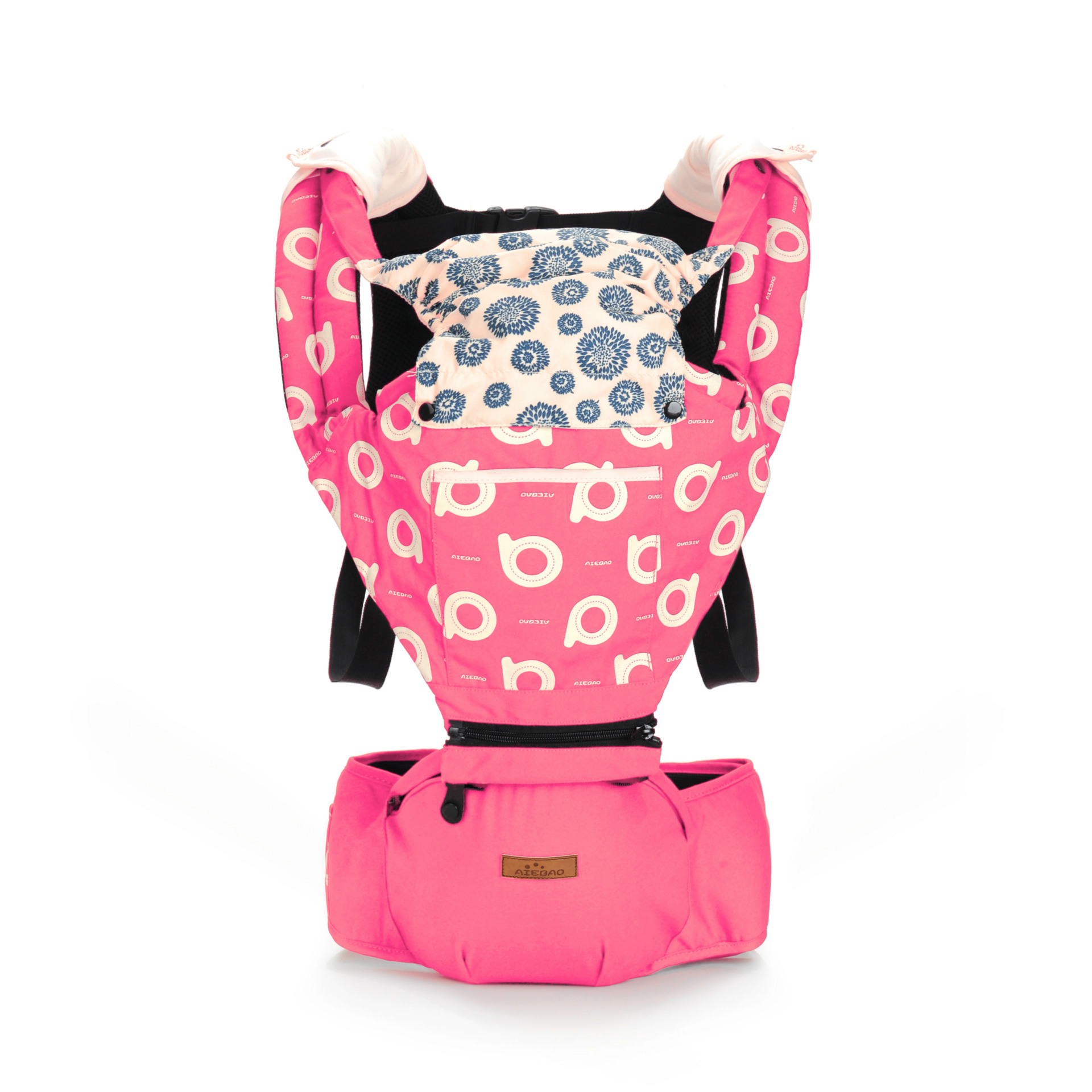 Baby Carrier Pouch Sling-Backpack Kangaroo Comfortable Infant Front Facing Multifunctional