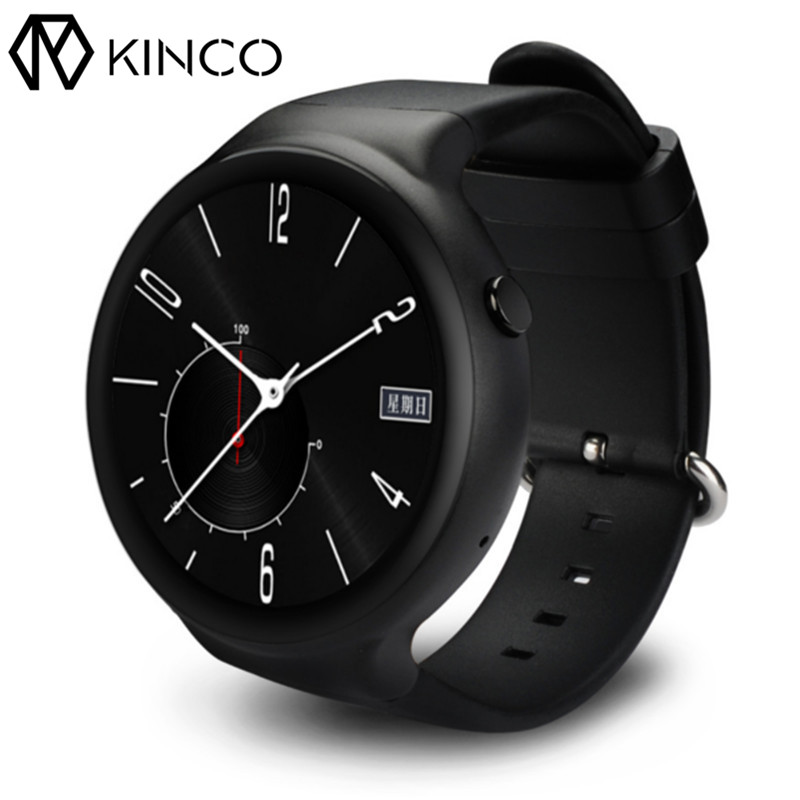 KINCO Smart Watch Android 5.1 1GB+16GB 1.39 3G WiFi GPS Heart Rate Monitor Map SmartWatch Clock Phone For/IOS Android/MTK6580 d6 smart watch phone 1 63 inch mtk6580 quad core 3g android 5 1 wear wifi gps smartwatch heart rate monitor for android ios