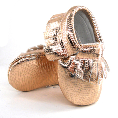 38fdb40cb472 Fashion New Styles bling PU Leather Infant Toddler Newborn Baby Children  First Walkers Crib rose gold Moccasins Soft Moccs Shoes