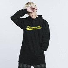 Здесь можно купить  hip hop Hoodies Men DREAMVILLE Hoody hoodies sweatshirt unisex Letter Fleece Hoodie Winter Men Pullovers,tx5979