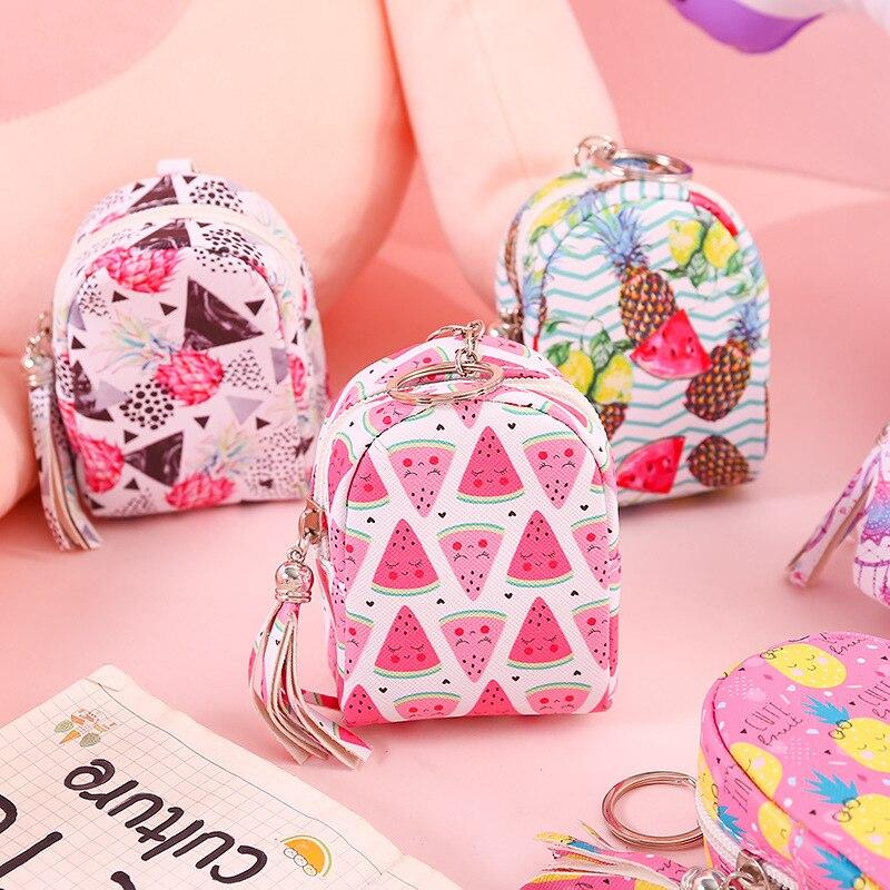 12 pc lote schoolbag bonito cor carteira bonito mini bolsa saco de moeda pequena de armazenamento