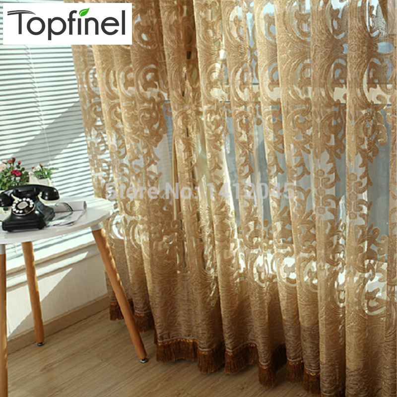 Top finel 2016 sheer tulle curtain panels modern window Contemporary drapes window treatments