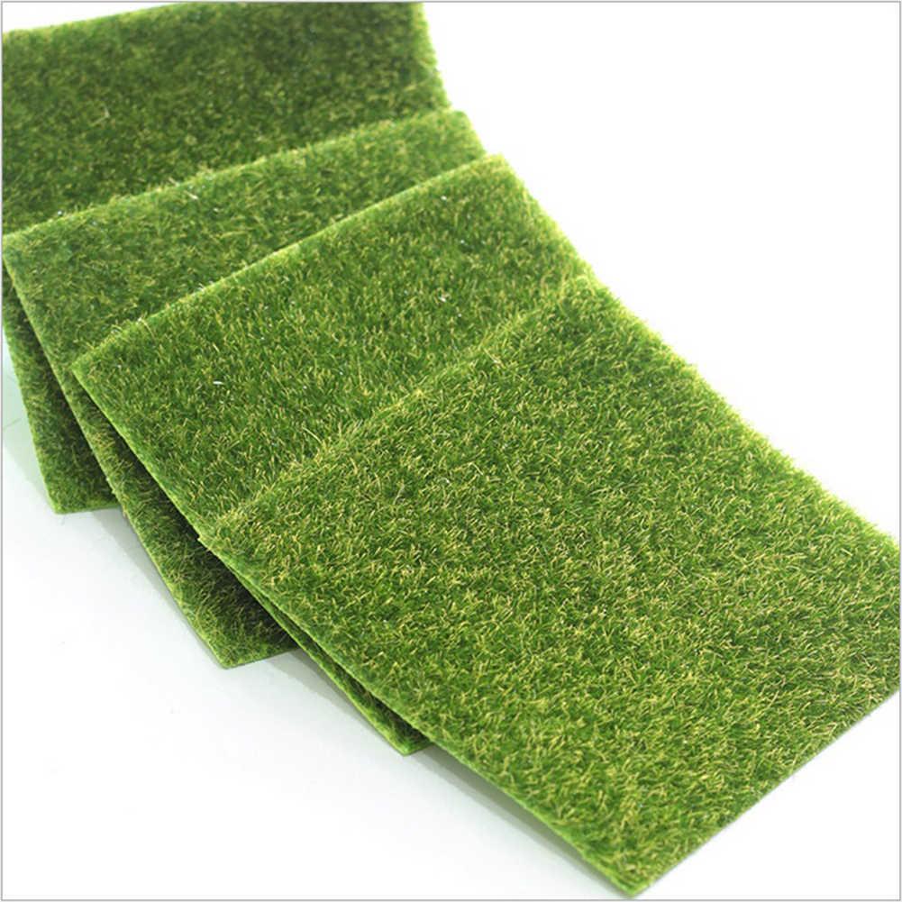 Искусственная трава миниатюра Газон Орнамент садовая трава ome сад мох для украшения пола дома