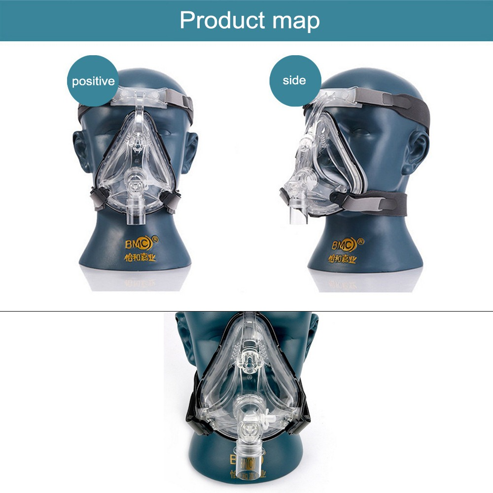 BMC-FM Nasal Mask Nasal Mask For CPAP Masks Interface Sleep  Snore Apnea OSAHS OSAS Snoring People Strap