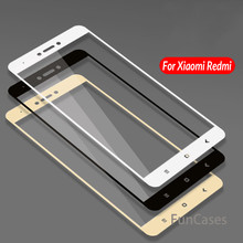 Cover Tempered Glass For Xiaomi Redmi 4X Note 4 5 Case Protective Glass For Xaomi Xiomi Redme Note 4X 4 6 Pro S2 Note4 Note4x X4(China)