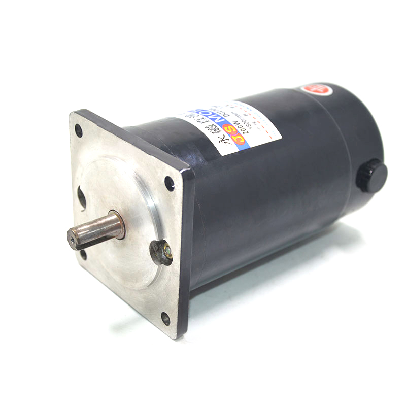 JS-ZYT-19 permanent magnet DC motor speed 1800 RPM high speed miniature single -phase DC motor DC220V / 200W