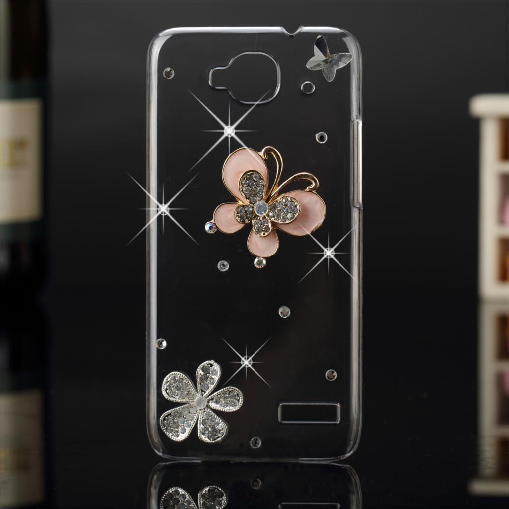 Hot 3D Bling Del Rhinestone Cristalino Del Diamante Para LG M2/K8 k10 Pantalla K