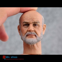 1/6 Scale Headplay Head Carving UK Famous Actor Sean Connery Head Sculpt With Beard Model For 12″ Action Figure Doll Toys
