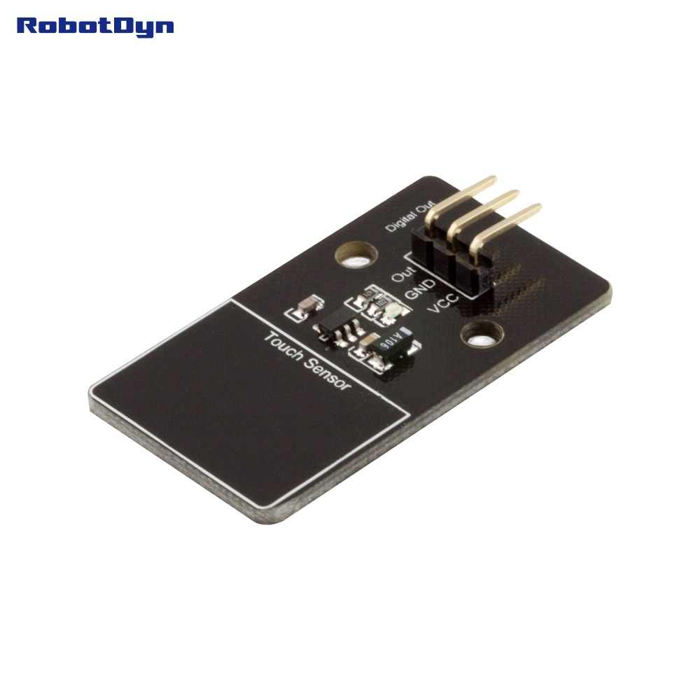Digital capacitive touch switch sensor. Double side touch พื้นที่โมดูล