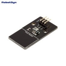 Digital capacitive touch switch sensor. Double side touch area. Module.
