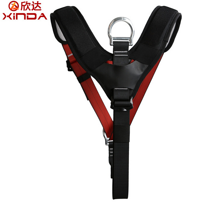XINDA Outdoor Sport Climbing Mountaineering Safety Belt Downhill Rescue Protection Equipment Upper Body Seat Belt Shoulder