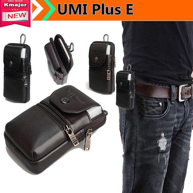 c158e99da1 Luxury Phone Genuine Leather Carry Belt Clip Pouch Waist Purse Case Cover  for UMI Plus E