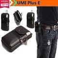"""Telefone de luxo Genuíno Estojo de Couro Clipe de Cinto Bolsa de Cintura Bolsa Case Capa para UMI Plus E 5.5 """"Saco do telefone Frete Grátis Gota"""