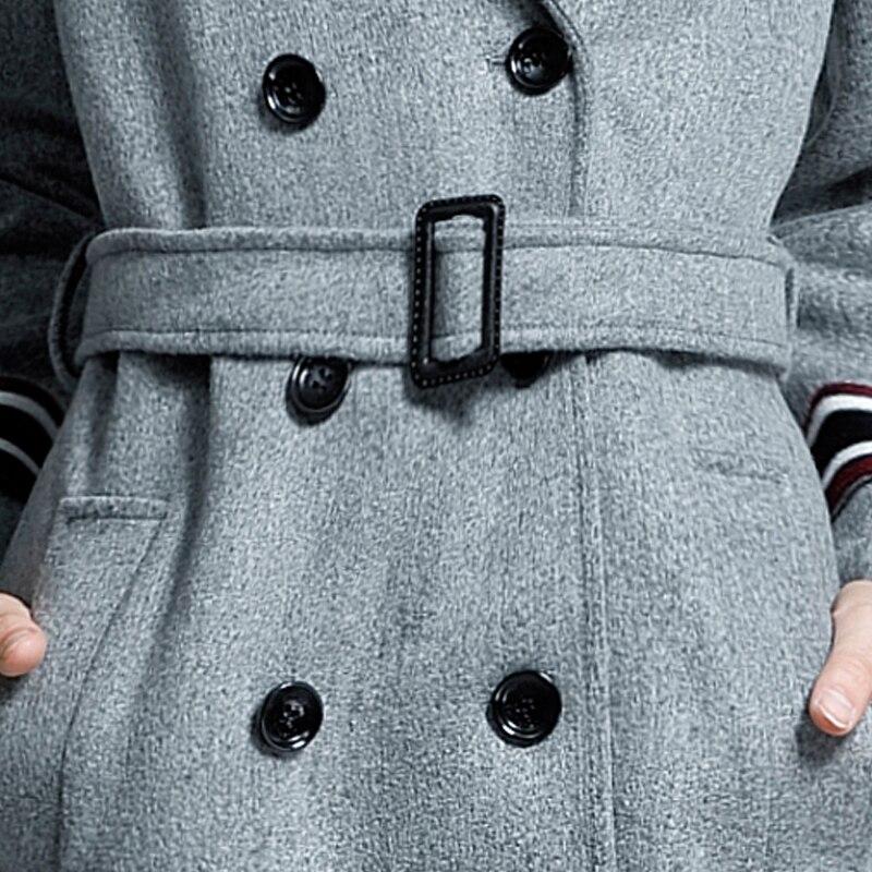 Automne Longues Taille Lâche Manches Green Grande Ventes army hiver Veste À Noir Causal Femmes Marque Chaojue Pois Laine 2018 En Manteau gris S61FvXzcq